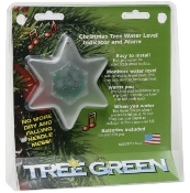 TREE GREEN- STAR Christmas Tree Water Level Indicator and Alarm